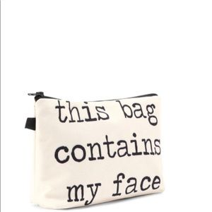 Other - Just In! Cute make-up bag